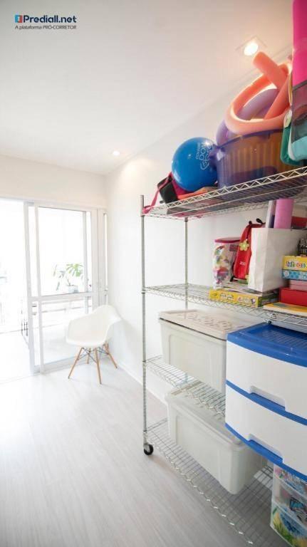 apartamento com 3 dormitórios, 2 suítes, à venda, 105 m² por r$ 880.000 - vila irmãos arnoni - são paulo/sp - ap3973