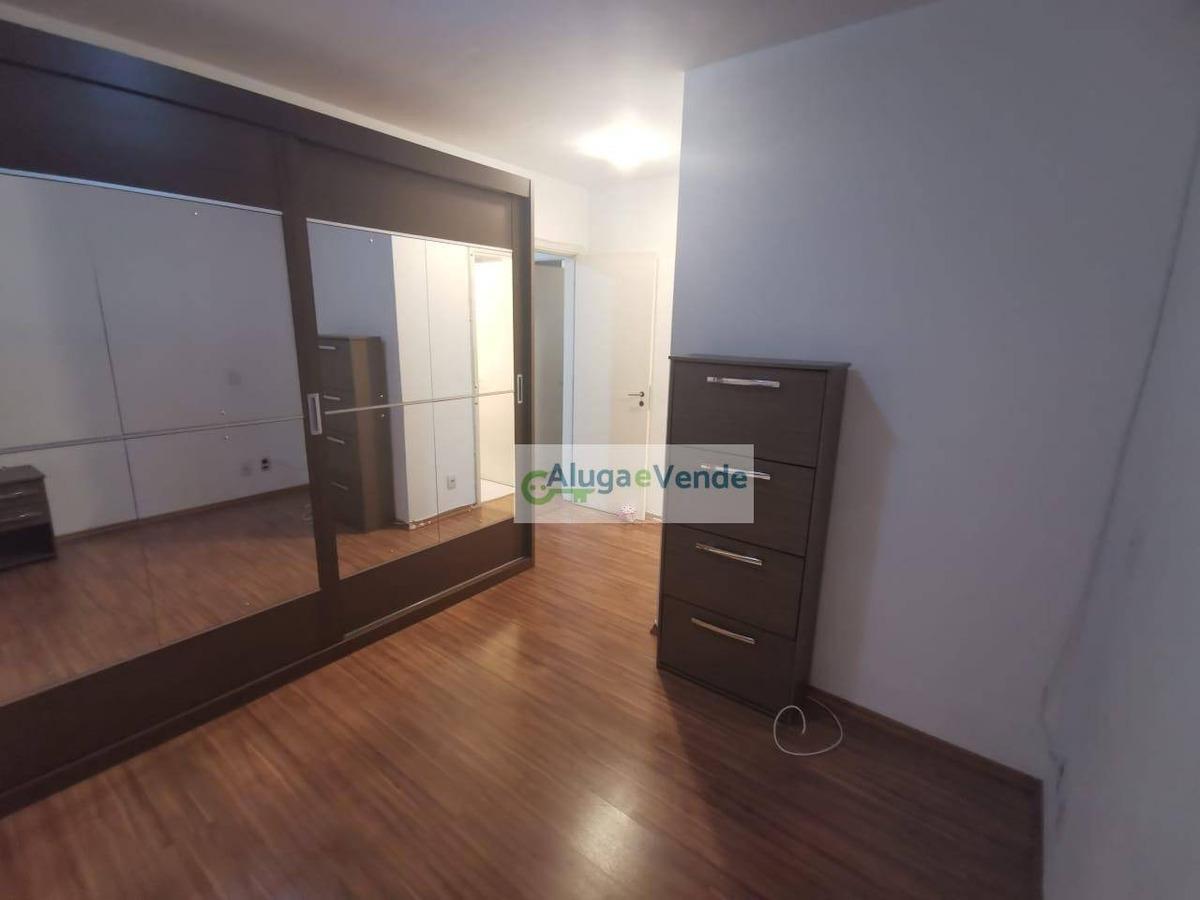 apartamento com 3 dormitórios 2 suítes à venda, no condomínio parque clube 91 m² por r$ 575.000 - vila augusta - guarulhos/sp - ap0164