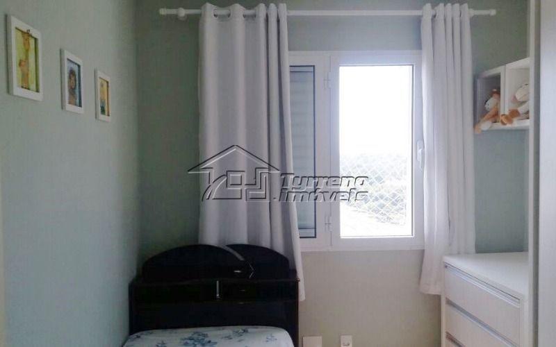 apartamento com 3 dormitórios, 2 vagas em condomínio clube