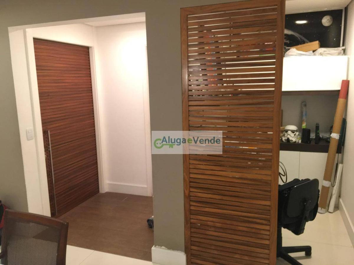 apartamento com 3 dormitórios 3 suítes à venda no condomínio parque clube, 150m² por r$ 950.000 - vila augusta - guarulhos/sp - ap0181