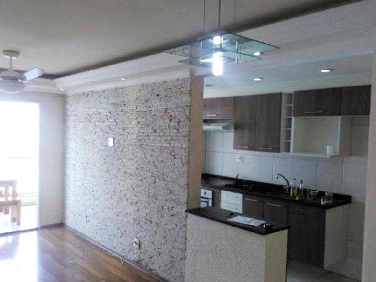 apartamento com 3 dormitórios, 83m², jardim zaira ap1365
