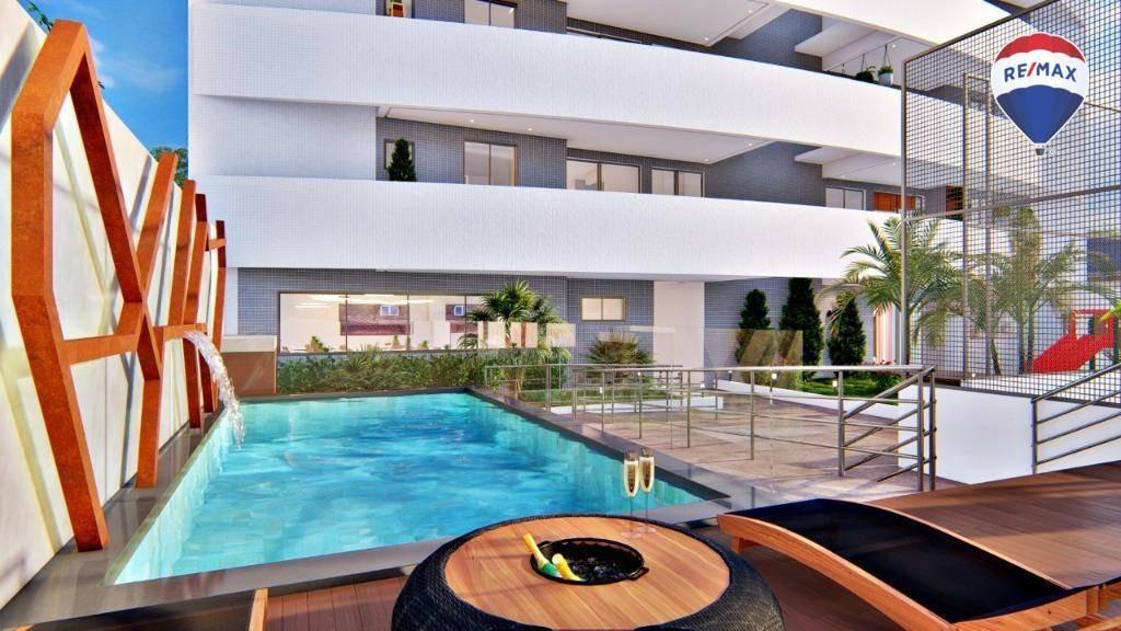 apartamento com 3 dormitórios, 84 m² - batista campos - belém/pa - ap0524
