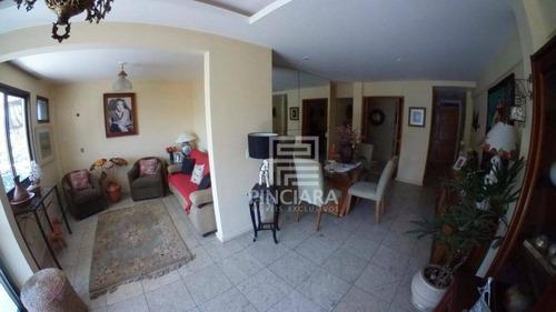 apartamento com 3 dormitórios, 90 m² por r$ 540.000 - são francisco - niterói/rj - ap0039