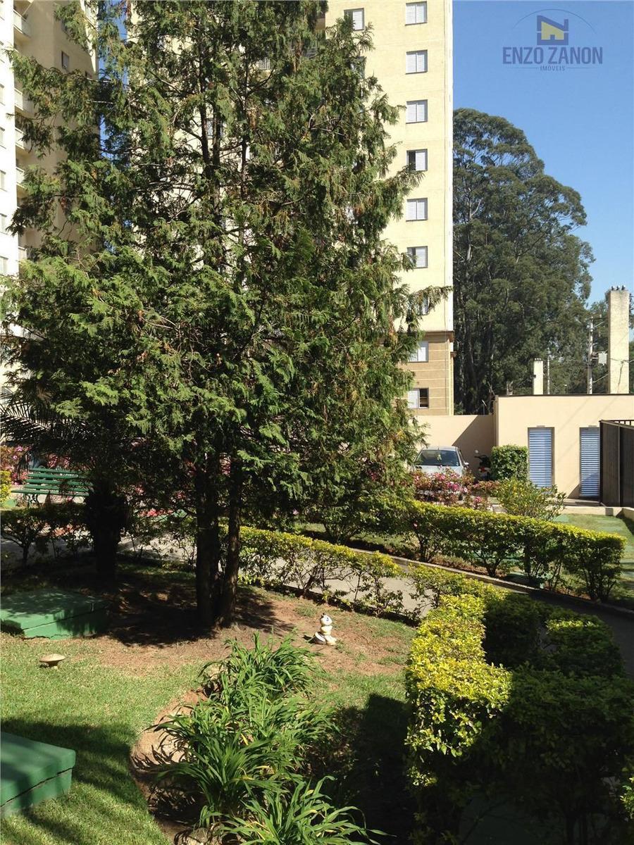 apartamento com 3 dormitórios, condomínio com diversos itens de lazer, segurança 24 horas. acesso fácil para o centro de são bernardo - ap1260