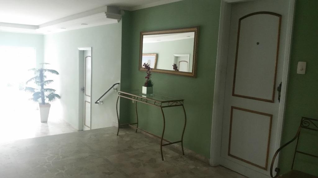 apartamento com 3 dormitórios na aparecida e 1 vaga para carro e moto - ap0987