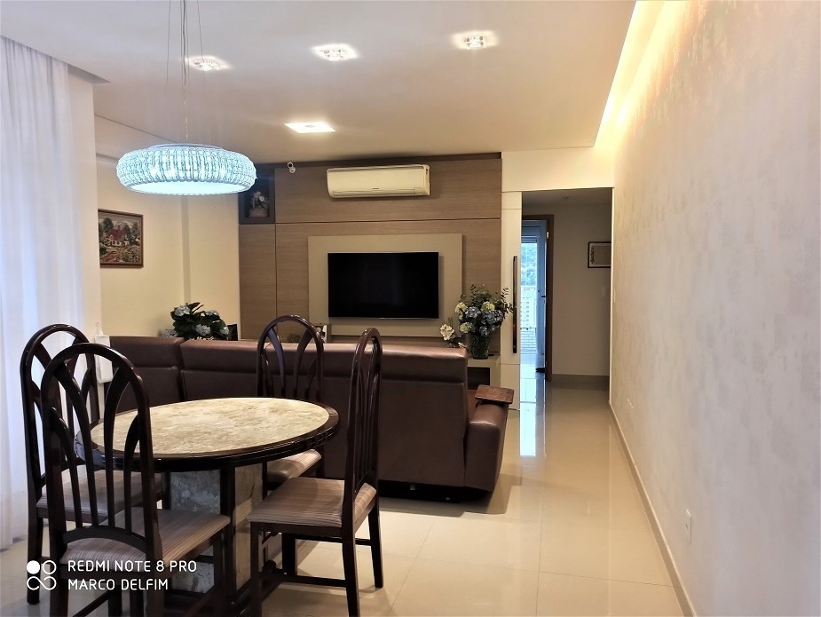 apartamento com 3 dormitórios na pompéia em santos