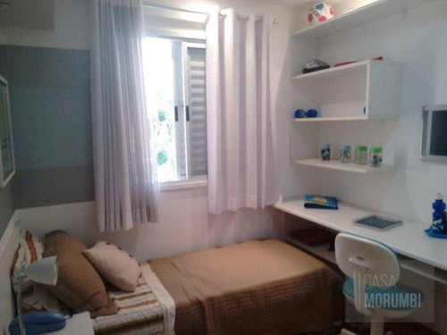 apartamento com 3 dormitórios para alugar, 100 m² por r$ 2.700/mês - vila andrade - são paulo/sp - ap1263