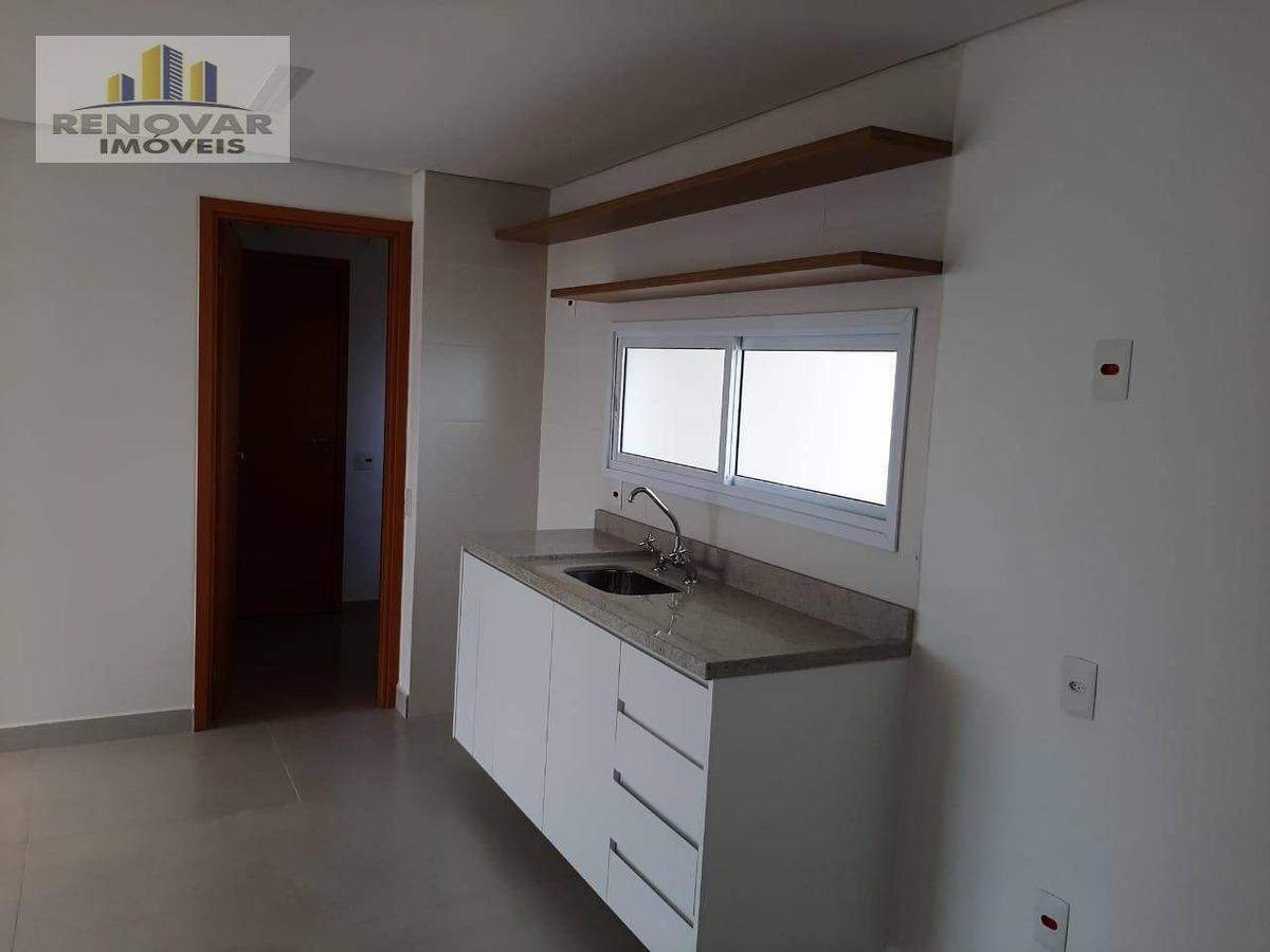 apartamento com 3 dormitórios para alugar, 100 m² por r$ 3.500/mês - jardim armênia - mogi das cruzes/sp - ap0984