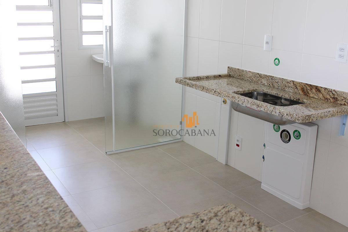 apartamento com 3 dormitórios para alugar, 103 m² por r$ 3.100/mês - condomínio residencial vancouver homes - sorocaba/sp - ap0085
