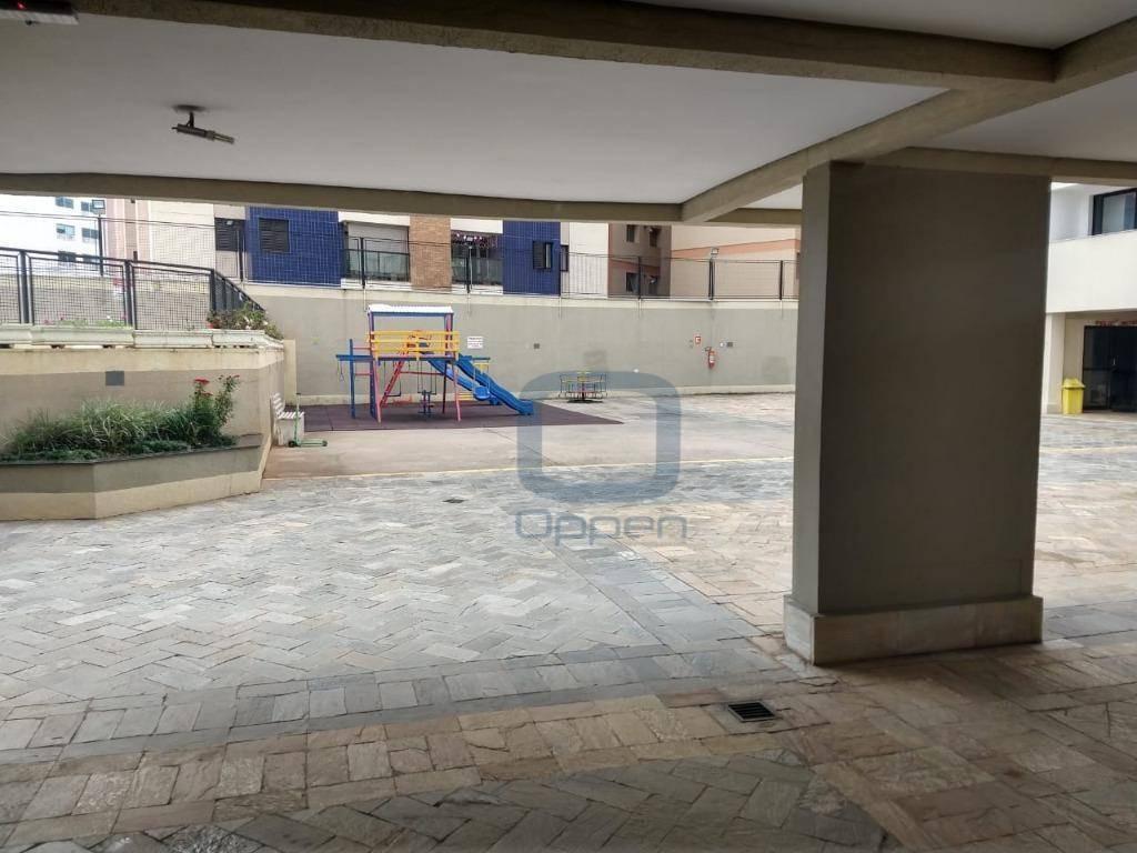 apartamento com 3 dormitórios para alugar, 105 m² por r$ 1.700/mês - centro - campinas/sp - ap0871