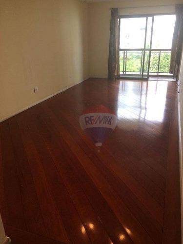 apartamento com 3 dormitórios para alugar, 106 m² por r$ 1.700,00/mês - água fria - são paulo/sp - ap0381