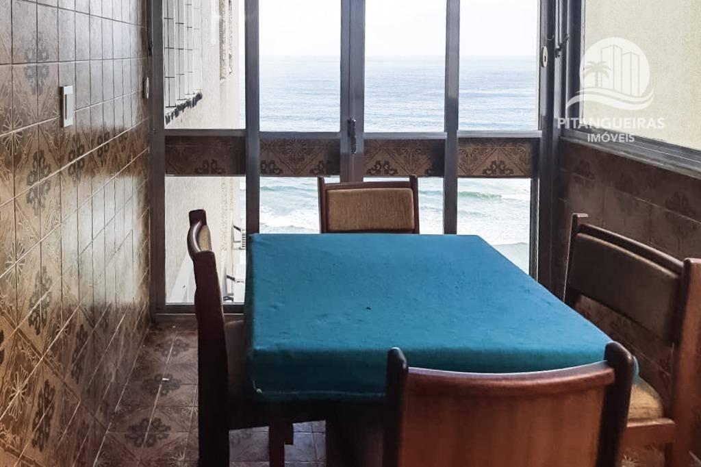 apartamento com 3 dormitórios para alugar, 116 m² por r$ 2.700,00/mês - pitangueiras - guarujá/sp - ap4696