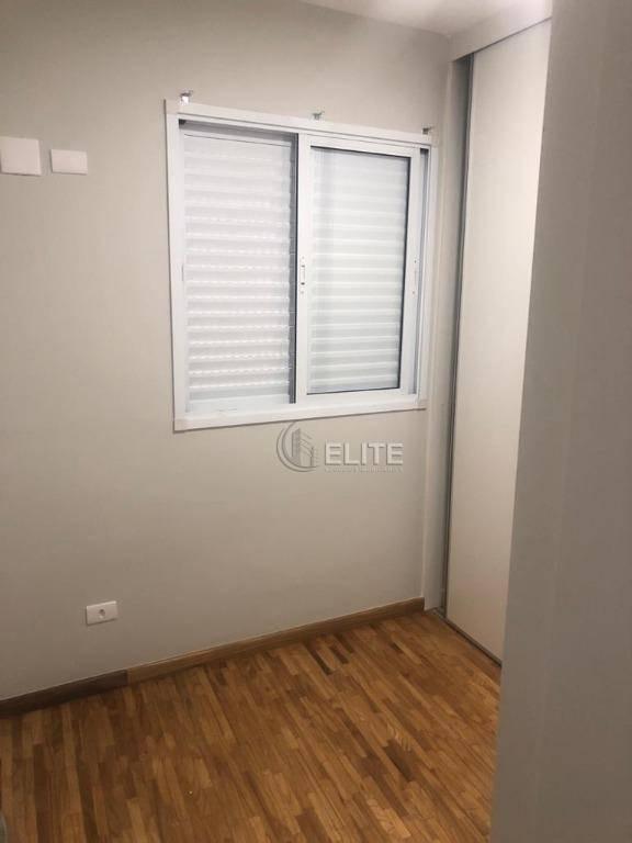 apartamento com 3 dormitórios para alugar, 133 m² por r$ 3.000,00/mês - jardim bela vista - santo andré/sp - ap3907