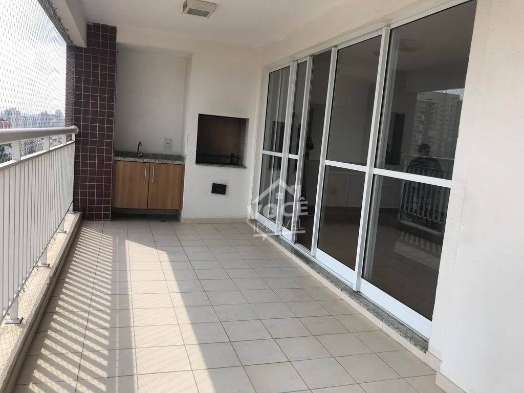 apartamento com 3 dormitórios para alugar, 140 m² por r$ 3.700/mês - jardim consórcio - são paulo/sp - ap0036