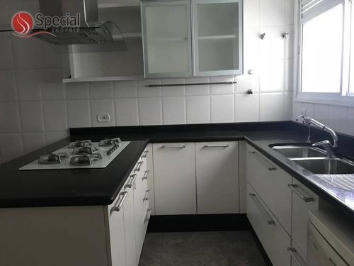 apartamento com 3 dormitórios para alugar, 145 m² - anália franco - são paulo/sp - ap12148