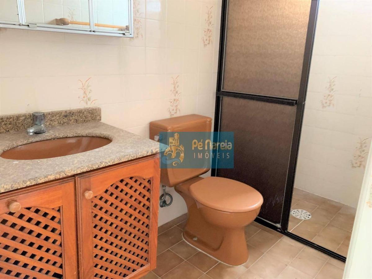 apartamento com 3 dormitórios para alugar, 150 m² por r$ 3.300/mês - rt3f62acanto do forte - praia grande/sp - ap0370