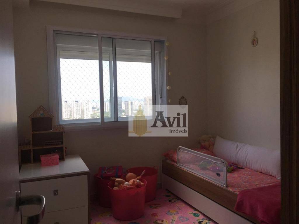 apartamento com 3 dormitórios para alugar, 160 m² por r$ 6.500/mês - barra funda - são paulo/sp - ap2342