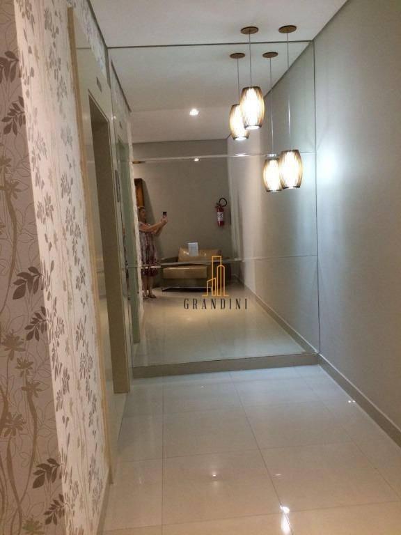 apartamento com 3 dormitórios para alugar, 173 m² por r$ 3.900/mês - centro - são bernardo do campo/sp - ap0575