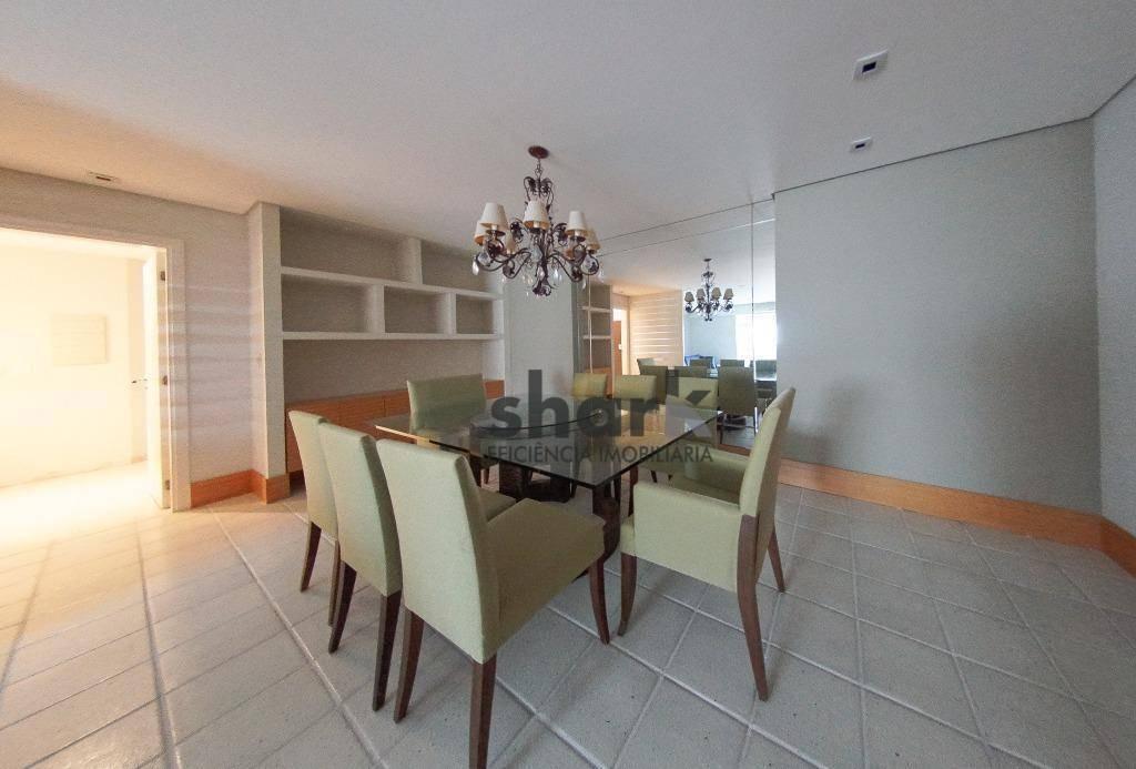 apartamento com 3 dormitórios para alugar, 177 m² por r$ 7.000/mês - alphaville industrial - barueri/sp - ap0120