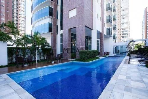 apartamento com 3 dormitórios para alugar, 180 m² por r$ 10.800/mês - jardim anália franco - são paulo/sp - ap0390