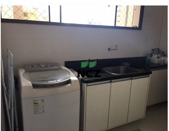 apartamento com 3 dormitórios para alugar, 188 m² por r$ 5.250/mês - pituba ville - salvador/ba - ap2413