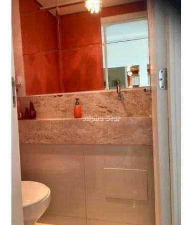 apartamento com 3 dormitórios para alugar, 202 m² por r$ 6.000/mês - edifício ereditá - santana de parnaíba/sp - ap1697