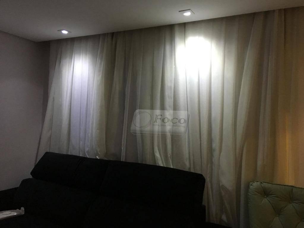 apartamento com 3 dormitórios para alugar, 65 m² por r$ 2.000,00/mês - vila augusta - guarulhos/sp - ap0577