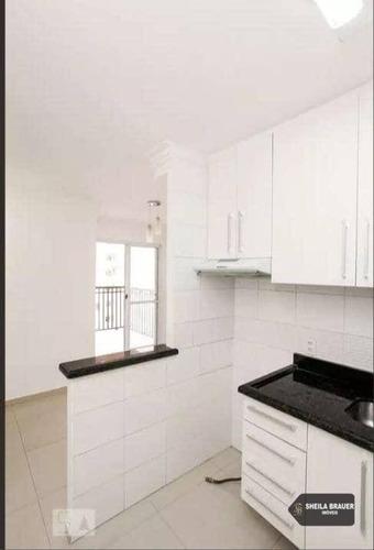 apartamento com 3 dormitórios para alugar, 66 m² por r$ 2.182/mês - vila augusta - guarulhos/sp - ap0074