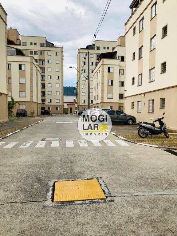 apartamento com 3 dormitórios para alugar, 67 m² por r$ 1.345/mês - vila mogilar - mogi das cruzes/sp - ap0216