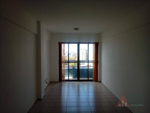 apartamento com 3 dormitórios para alugar, 70 m² por r$ 1.400/mês - cidade universitária - recife/pe - ap1045