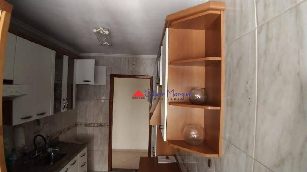 apartamento com 3 dormitórios para alugar, 70 m² por r$ 1.550,00/mês - continental - osasco/sp - ap7124