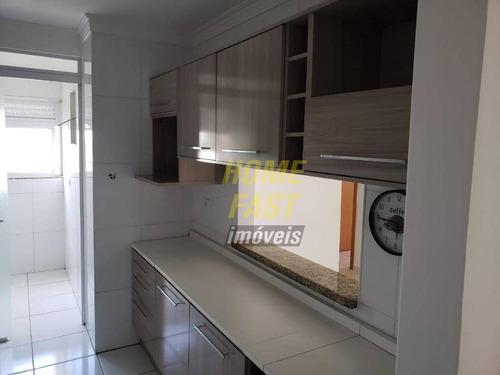 apartamento com 3 dormitórios para alugar, 70 m² por r$ 2.000/mês - centro - guarulhos/sp - ap1437
