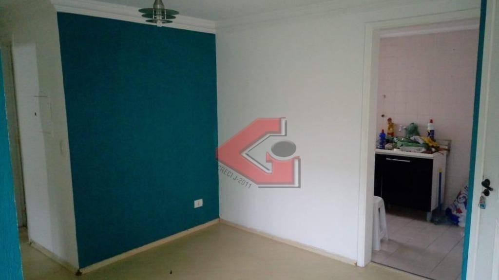 apartamento com 3 dormitórios para alugar, 73 m² por r$ 1.000/mês - demarchi - são bernardo do campo/sp - ap1049