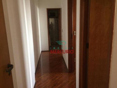 apartamento com 3 dormitórios para alugar, 76 m² por r$ 1.100/mês - jardim infante dom henrique - bauru/sp - ap3318
