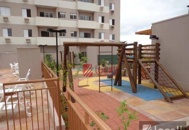 apartamento com 3 dormitórios para alugar, 80 m² por r$ 1.700/mês - higienópolis - são josé do rio preto/sp - ap1841