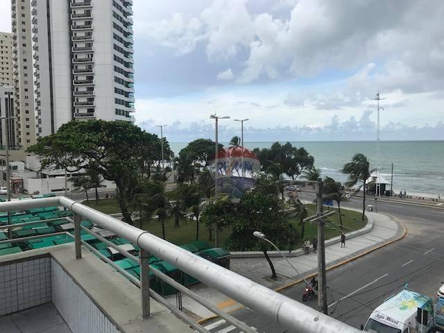 apartamento com 3 dormitórios para alugar, 80 m² por r$ 2.100,00/mês - boa viagem - recife/pe - ap0920