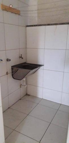 apartamento com 3 dormitórios para alugar, 82 m² por r$ 750/mês - maraponga - fortaleza/ce - ap0348