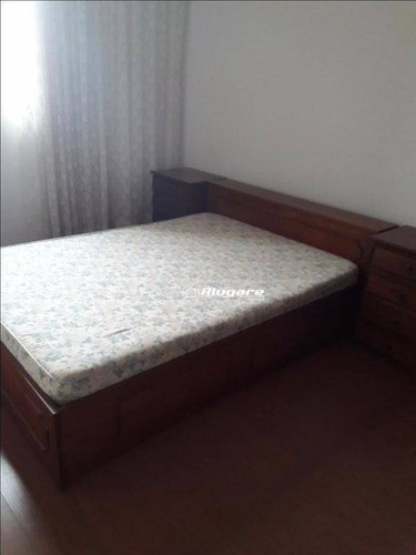 apartamento com 3 dormitórios para alugar, 85 m² por r$ 1.200,00/mês - vila augusta - guarulhos/sp - ap1688