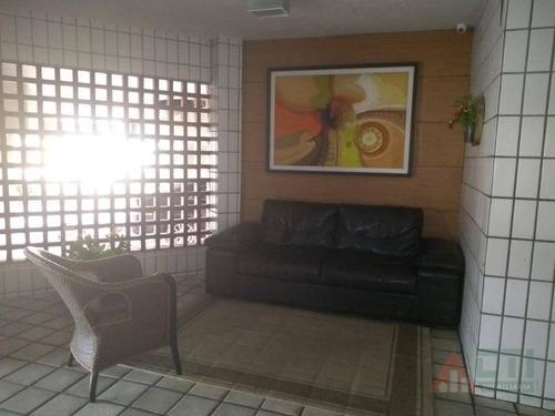 apartamento com 3 dormitórios para alugar, 85 m² por r$ 1.800/mês - cidade universitária - recife/pe - ap1034