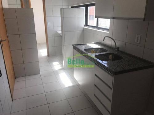 apartamento com 3 dormitórios para alugar, 89 m² por r$ 1.500/mês - torre - recife/pe - ap1344