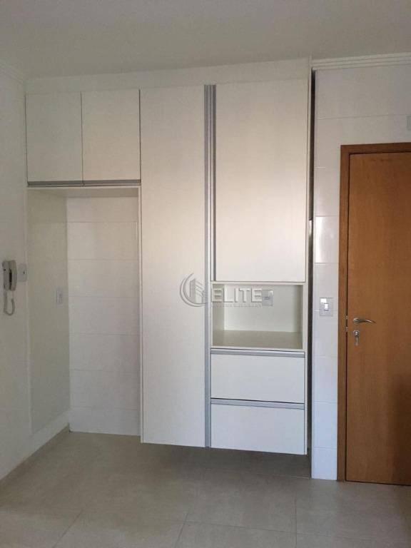 apartamento com 3 dormitórios para alugar, 91 m² por r$ 2.400,00/mês - jardim bela vista - santo andré/sp - ap9806