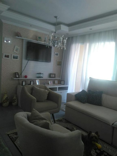 apartamento com 3 dormitórios para alugar, 91 m² por r$ 2.800/mês - vila augusta - guarulhos/sp - cód.  ap6605 - ap6605