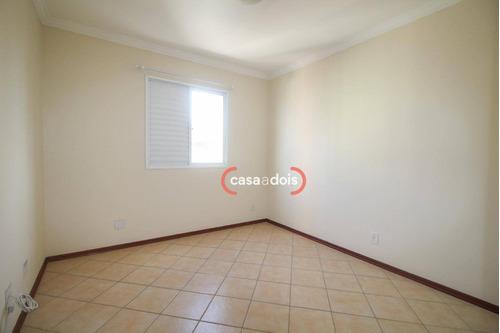 apartamento com 3 dormitórios para alugar, 94 m² por r$ 1.400/mês - parque campolim - sorocaba/sp - ap0516