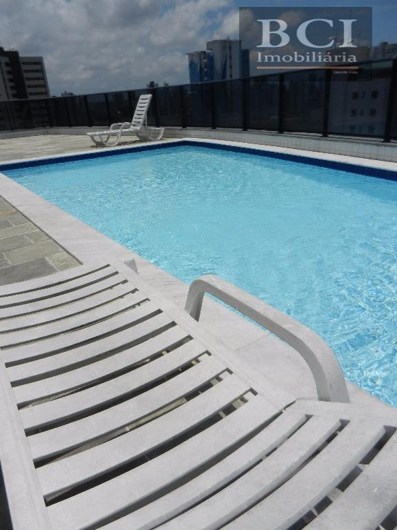 apartamento com 3 dormitórios para alugar, 94 m² por r$ 2.000/mês - madalena - recife/pe - ap0103