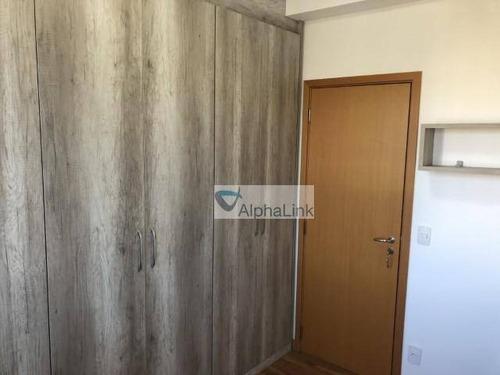 apartamento com 3 dormitórios para alugar, 96 m² por r$ 3.700,00/mês - tamboré - santana de parnaíba/sp - ap1681