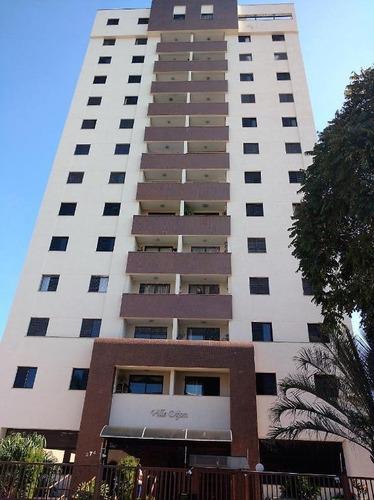 apartamento com 3 dormitórios para alugar, 99 m² por r$ 1.500/mês - edifício ville dijon - jardim das nações - taubaté/sp - ap1477