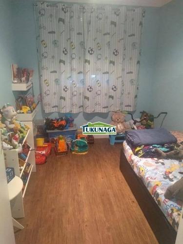 apartamento com 3 dormitórios para alugar - vila galvão - guarulhos/sp - ap2502