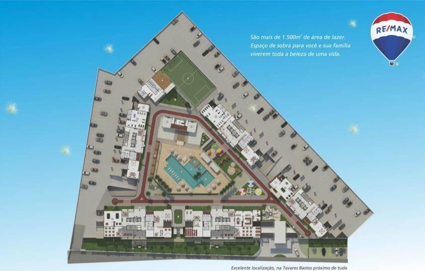 apartamento com 3 dormitórios piazza toscana, 88 m² - marambaia - belém/pa - ap0600