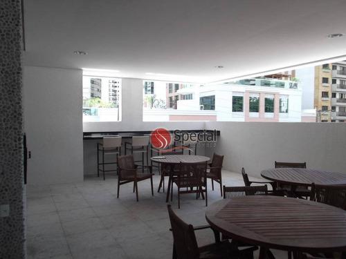 apartamento com 3 dormitórios à venda, 100 m²  - jardim anália franco - são paulo/sp - ap8929