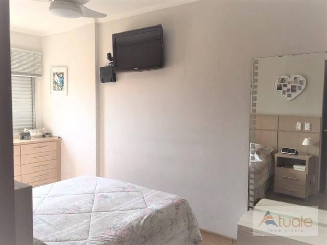 apartamento com 3 dormitórios à venda, 100 m² - jardim chapadão - campinas/sp - ap6529